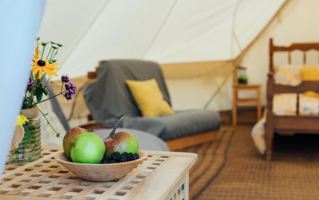 luxury glamping adults only